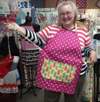 Learn to Sew 4–Tea Towel Apron