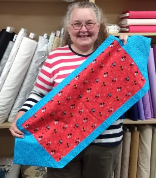Learn to Sew 1–Quick and Easy Table Runner